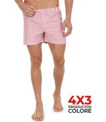 boxer rojo-blanco colore