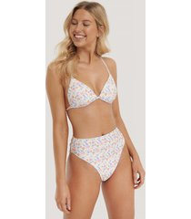 na-kd swimwear maxi highwaist bikini panty - multicolor