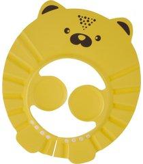 gorro vicera baño protector shampoo  amarillo petit bebe