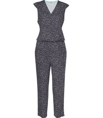 trousers knitted fab jumpsuit blauw gerry weber edition