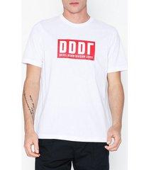 diesel t-just-a9 t-shirt t-shirts & linnen white