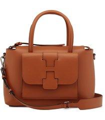 hogan basic leather handbag