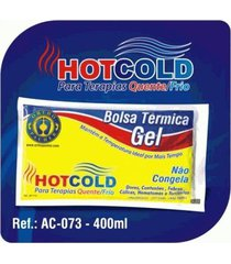 bolsa térmica de gel quente e fria hot cold 400 ml ac073 orthopauher 400 ml