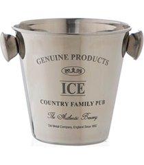 balde de gelo vegas 2 litros prata