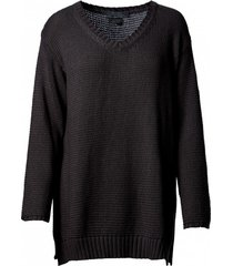 sweter o kroju oversize