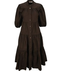 tory burch flaunces flared dress