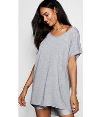 basic oversized t-shirt, grey