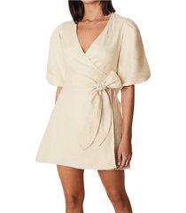 godiva wrap dress