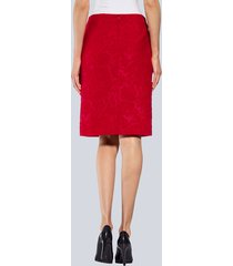 kjol alba moda röd