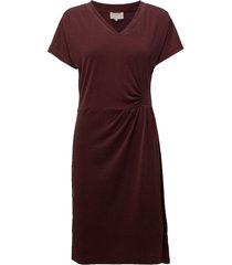 dyveke dress kort klänning röd minus