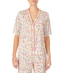 women's room service pajama top, size xx-small - pink (nordstrom exclusive)