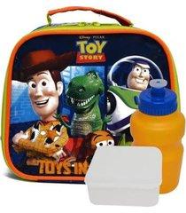 lancheira infantil toy story 30437 masculina