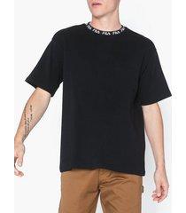 fila tamotsu tee t-shirts & linnen black