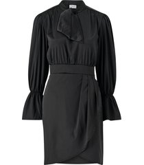 klänning viasta l/s tie neck dress