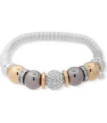 nine west boxed fireball stretch bracelet