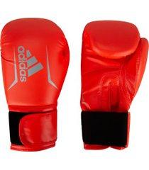 luvas de boxe adidas speed 50 plus - 12 oz - adulto - vermelho