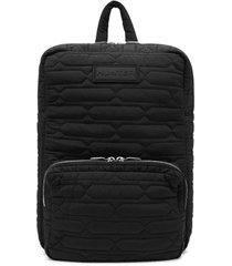 refined quilted backpack