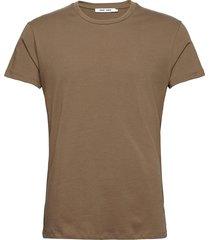 kronos o-n ss 273 t-shirts short-sleeved brun samsøe samsøe