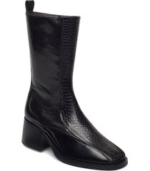 boots 4814 shoes boots ankle boots ankle boot - heel svart billi bi