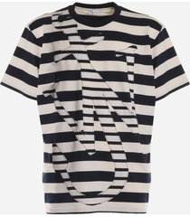 j.w. anderson oversize t-shirt with anchor