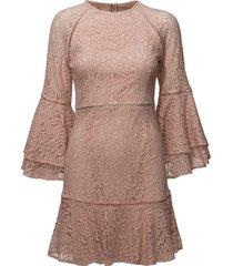 ettie mini dress korte jurk roze by malina