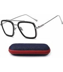 montura gafas recetadas medicada vintage ironman tony stark