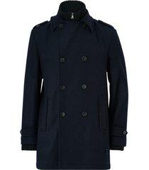 rock pea coat