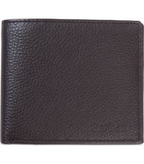 barbour men's amble leather billfold wallet