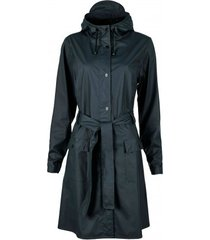 rains regenjas curve jacket blue-xs / s