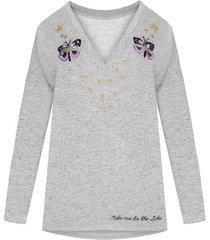 bluza motyl