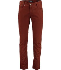 gardeur broek 5-pocket slim fit sandro 411591/54