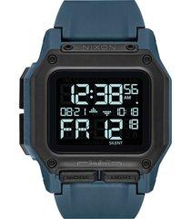 men's nixon regulus digital watch, 46mm