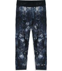 pantalón azul-negro adidas performance parley ask tig