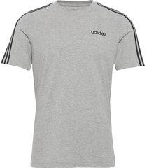 e 3s tee t-shirts short-sleeved grå adidas performance