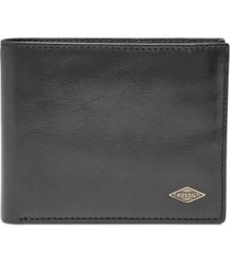 fossil men's ryan leather wallet
