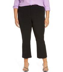 women's halogen kick flare pants, size 18 - black