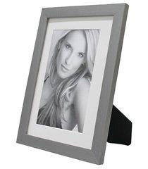 porta retrato com paspatur insta 18x24cm prata