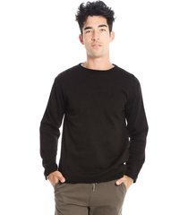 sweater negro gabucci casual