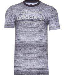 camiseta masculina traction aop - cinza