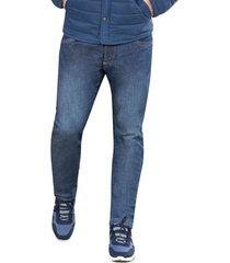 jean dustin azul para hombre croydon