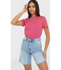 tommy jeans tjw branded neck tee t-shirts