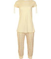 pyjama's / nachthemden lisca homewear pyjamabroek top zachte spot wang