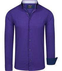 enrico polo overhemd purple