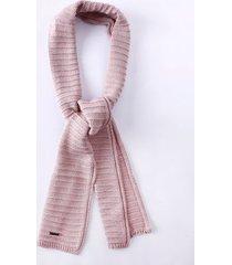 cachecol tricot infantil para menina - bege