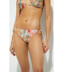 lurex bikini bottom - white - xl