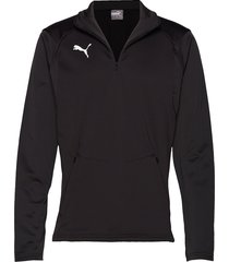 liga training fleece t-shirts football shirts svart puma
