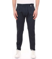 pantalon bicolore f2576-zinco