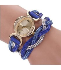 reloj  azul  sasmon re-22701