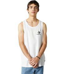 converse camiseta de tirantes star chevron white