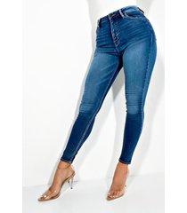 akira always high waisted skinny jeans